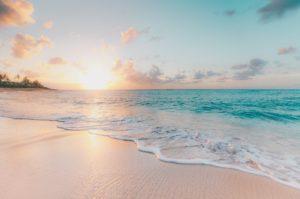 beach on island of maui