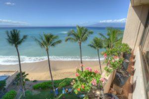 Sands Of Kahana Maui View From Patio