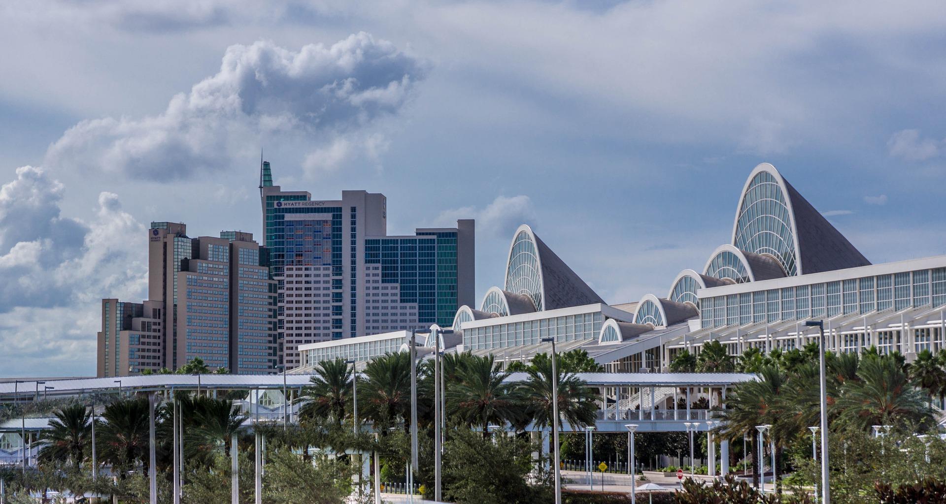 Orlando Florida City Scape