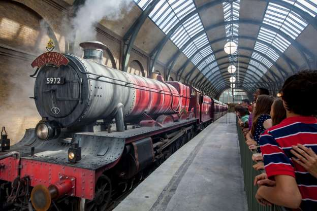Universal Orlando attractions Hogwarts Express