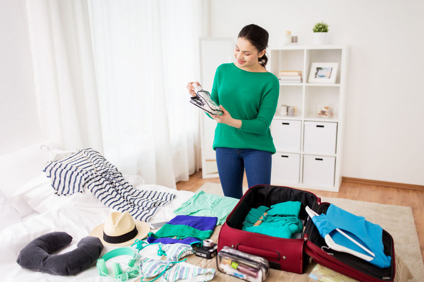 vacation packing tips for vegas, maui and orlando