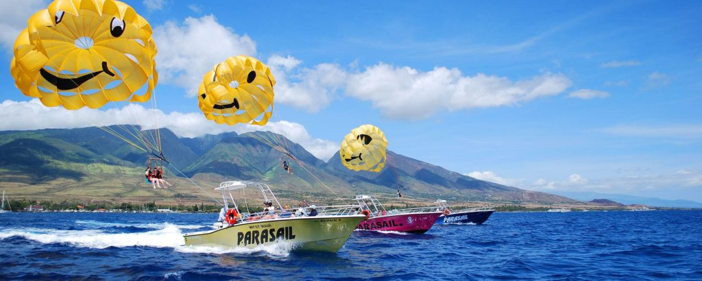 Maui things to do parasailing